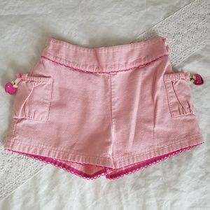 Pink Cherry shorts, 3t